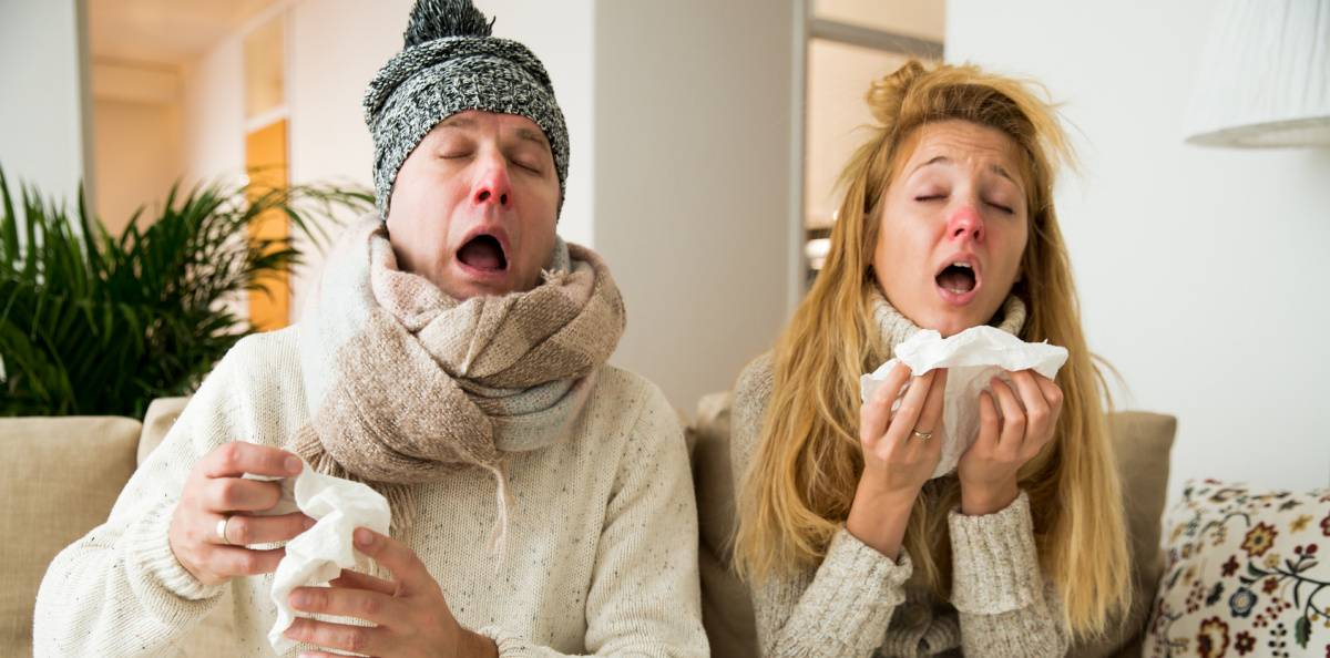 hur länge håller influensan i sig