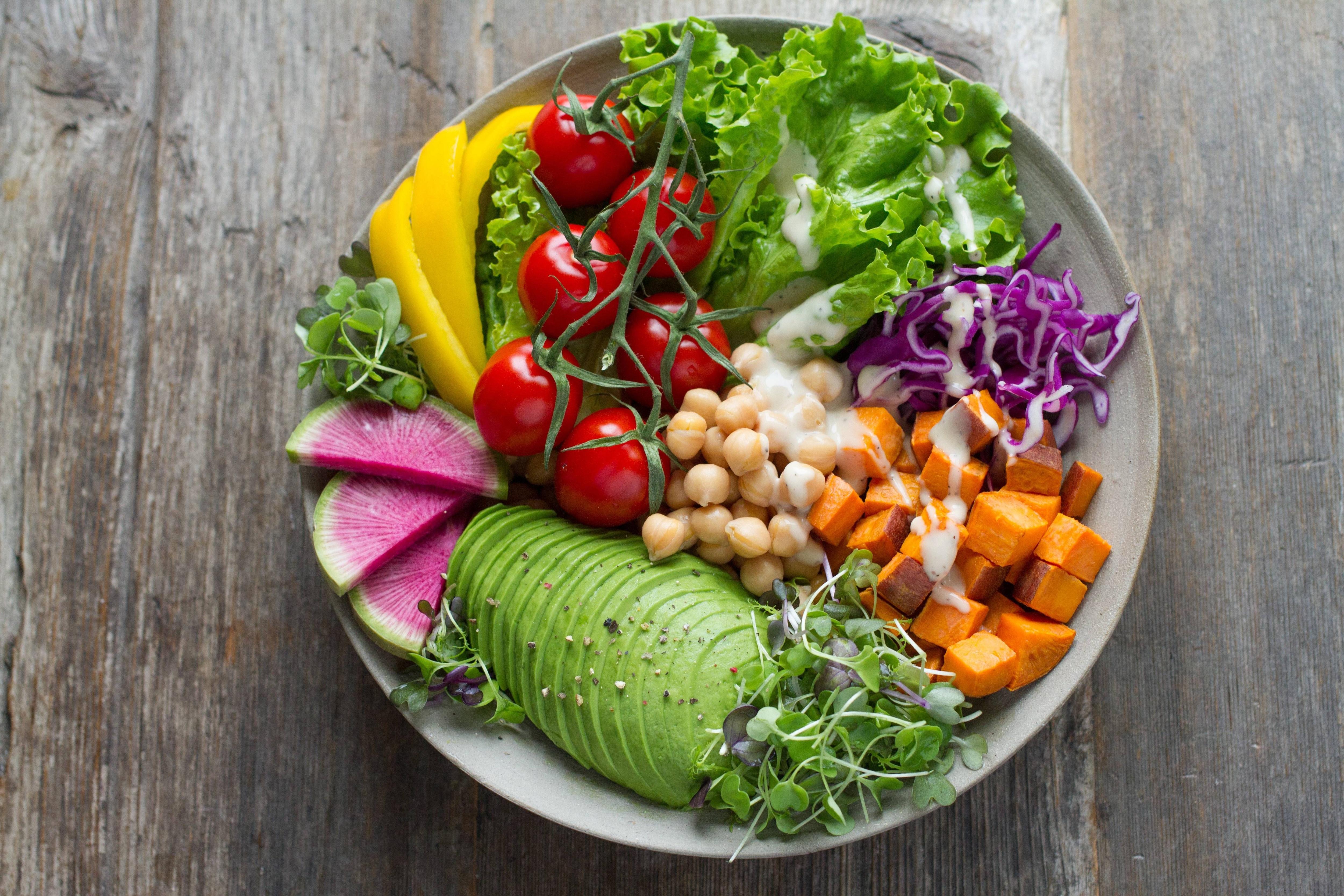 bra vegansk mat