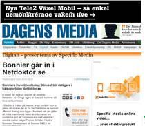 Bonnier går in i Netdoktor.se