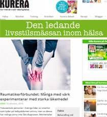 Kurera om artros och starka läkemedel mot värk - med information från Artroskollen.se