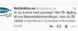 Tweets från Almedalen 2013