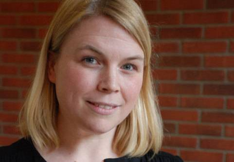 Caroline Degerkvist har psoriasisartrit