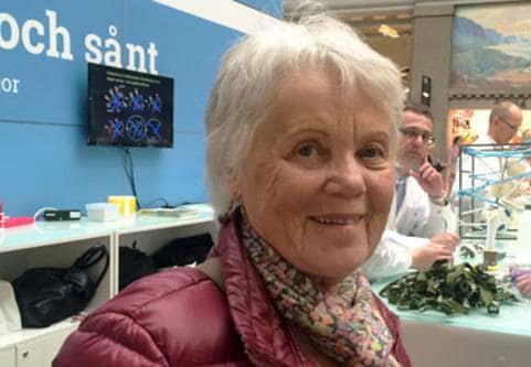 Marianne Hänel har artros och har fått lindring av sjukgymnastik