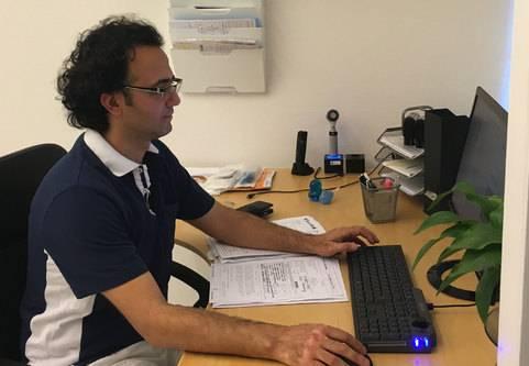 Hassan Killasli: Jag vill vara tillgänglig för patienter med hidradentitis suppurativa